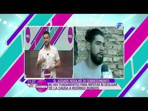 Se levantan las medidas cautelares contra el futbolista Rodrigo Burgos