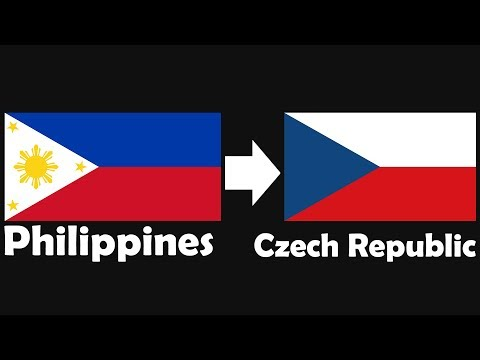 Random Flag #18 Philippines → Czech Republic