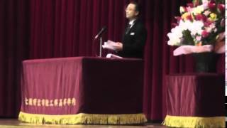 H27大阪府立布施工科高等学校・入学式式辞