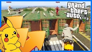 PIKACHU VS BIKERS! - GTA V MODDED GAMEMODE! (GTA 5 FUNNY MOMENTS)