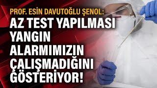 Prof. Esin Davutoğlu Şenol: Az test yapılması yangın alarmımızın çalışmadığını g