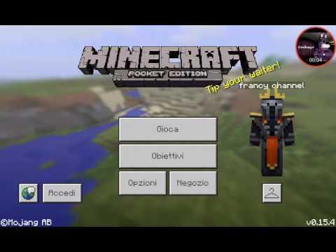 Nuova Serie #1:come Costruire Una Villa In Minecraft Pocket Edition