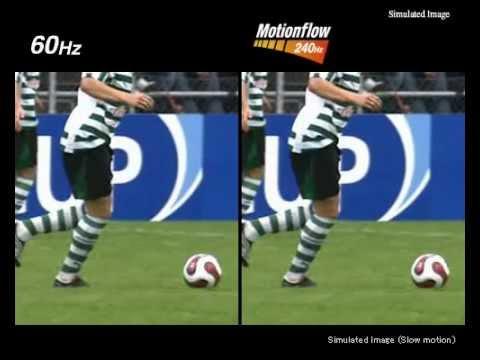 Sony BRAVIA 120Hz/240Hz Motionflow