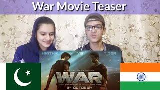 War movie Teaser |Pakistani Reaction |