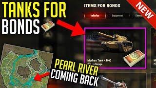 New Bond Shop for Tanks • New Pearl River Comeback | World of Tanks Update 1.6.1+ News