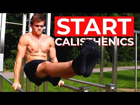 How To Start Calisthenics | Full Beginners Bodyweight Workout Guide and Routine