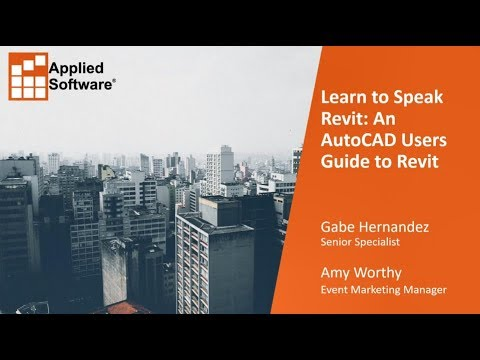 learn to speak revit an autocad users guide to revit youtube rh youtube com Autodesk Revit Icon revit architecture 2014 user guide pdf - autodesk