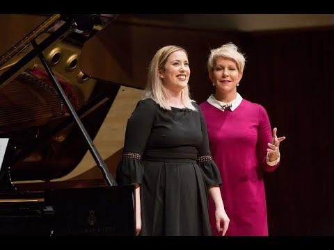 Nicole Thomas, mezzo & Chris Reynolds, piano | Juilliard Joyce DiDonato Vocal Arts Master Class