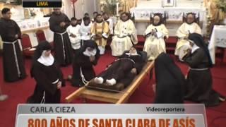 800 años de Santa Clara de Asís