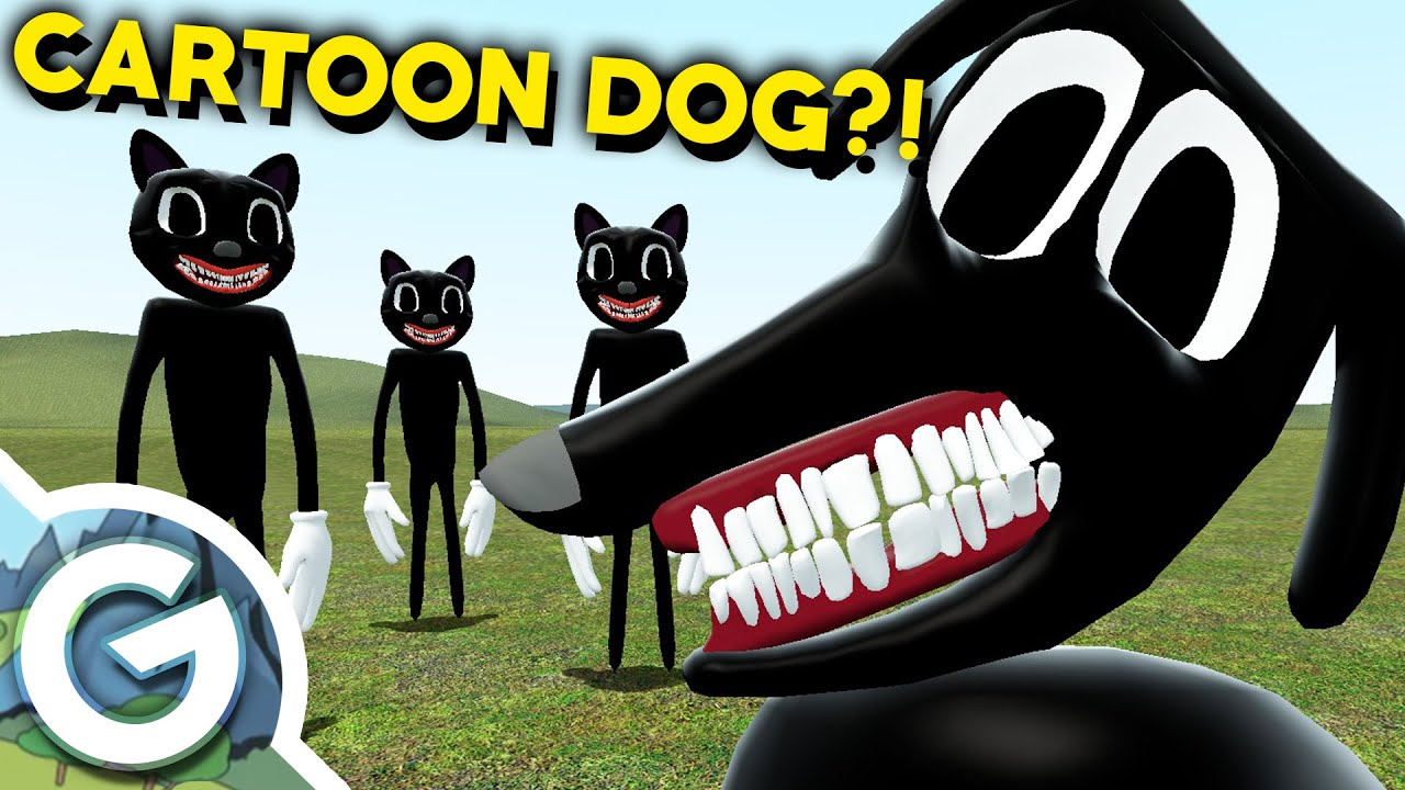 Cartoon Dog Hates Cartoon Cat Gmod Sandbox New Trevor Henderson Monsters