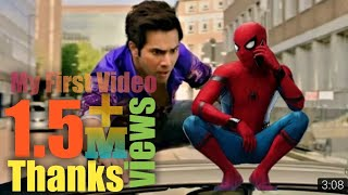 JUDWAA 2 & SPIDER MAN MASHUP | Surprise at the END | PMP STUDIO EDITS