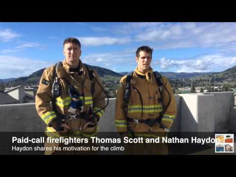SLO County firefighters train for Scott Firefighter Stairclimb