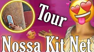 TOUR PELA NOSSA KIT NET ALUGADA