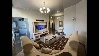 Купить квартиру с ремонтом и мебелью в доме со своим бассейном.