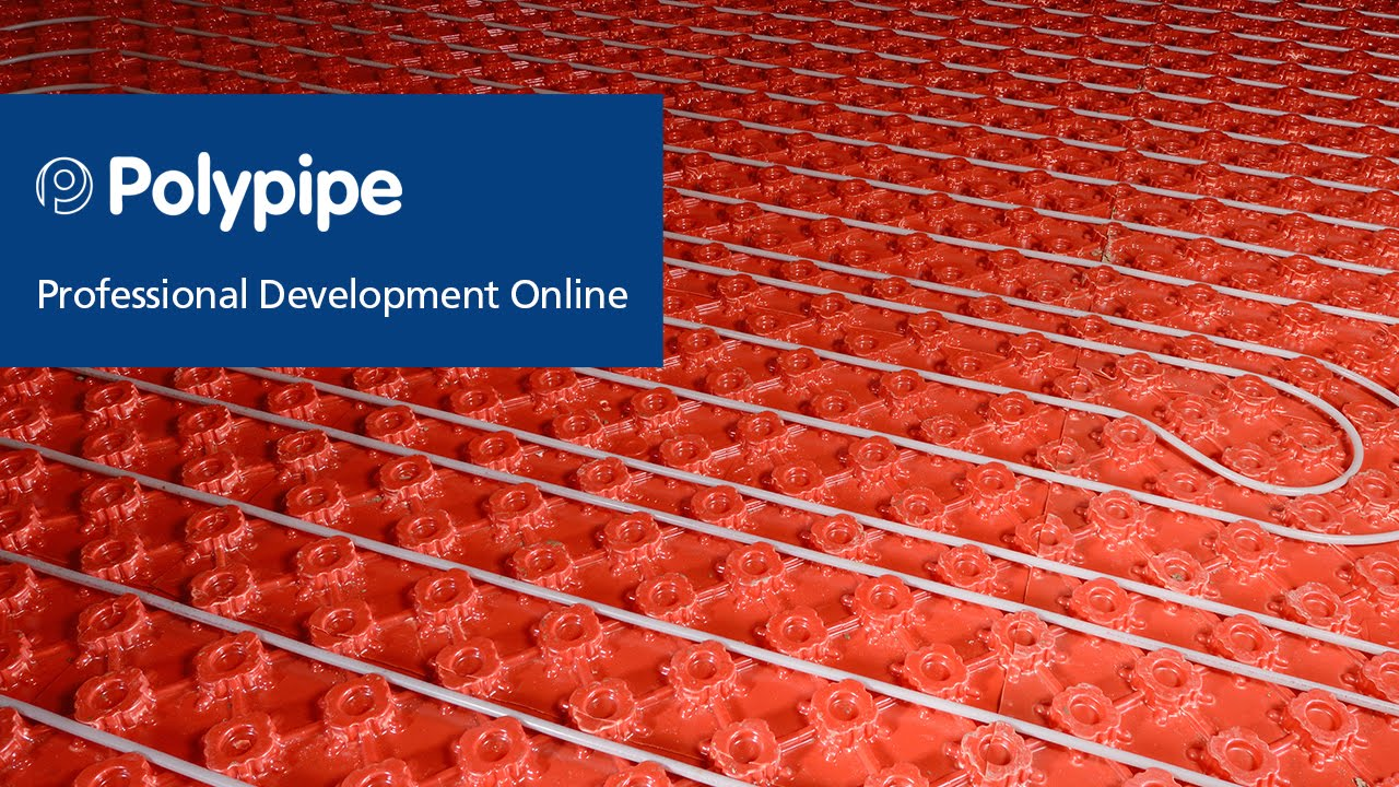 Polypipe Underfloor Heating Solid Floor Systems Youtube
