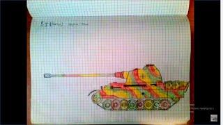Как нарисовать танки? How to a draw tanks?(Всем привет! Это мое первое видео на этом канале. Если вы хотите научится рисовать танки, то это у меня на..., 2014-04-30T11:25:11.000Z)