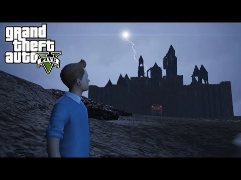 EL CASTILLO DE DRACULA !! | Grand Theft Auto 5