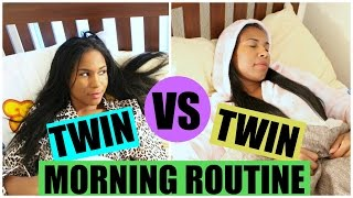 TWIN VS TWIN WINTER MORNING ROUTINE 2016