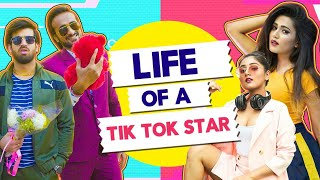 Life Of A TikTok Star Ft. Abhinav Anand (Bade) & Gima Ashi| Hasley India