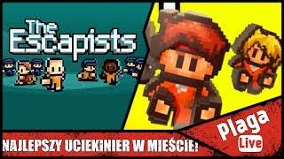 NAJLEPSZY UCIEKINIER W MIEŚCIE! (The Escapists #4) | PlagaLive