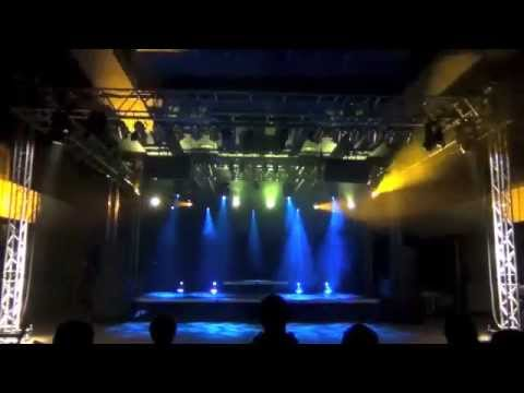 Cloudkicker - Let Yourself Be Huge (Stage Lighting Design)