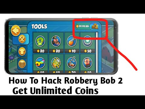 How To Hack Robbery Bob 2 Get Unlimited Coins 2018 Youtube