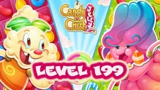 Candy Crush Jelly Saga Level 199 - Liquorice Larry