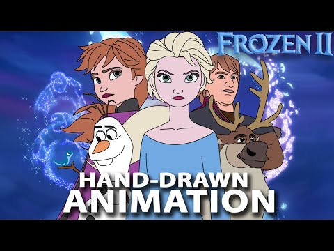 Frozen 2 Into The Unknown Trailer Hand Drawn Animation (Cover)