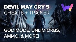 Devil May Cry 5 Trainer +13 Cheats (Add Orbs, Unlim Trigger, & More)
