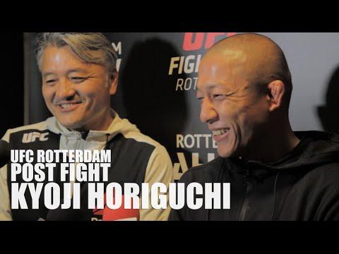 UFC Rotterdam Post Fight: Kyoji Horiguchi