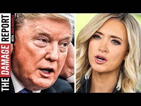 Trump Leaves Kayleigh McEnany Out To Dry