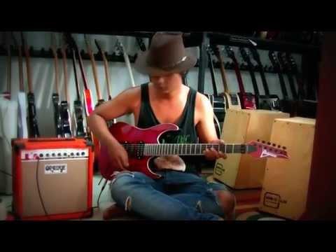 jual alat alat musik murah meriah ampli oranye + guitar ibanez premium red updown Mp3