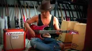 jual alat alat musik murah meriah ampli oranye + guitar ibanez premium red updown