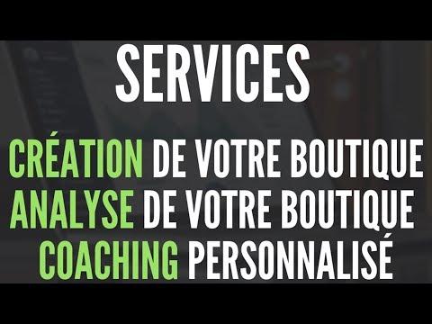 Shopify - Création et analyse de vos boutiques, Coaching