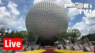 🔴Live: Epcot Live Stream - 7-13-18 - Walt Disney World