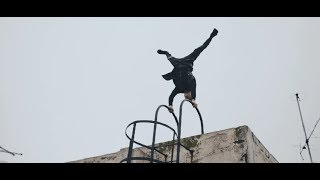 THE WORLD BEST PARKOUR AND FREERUNNING ON THE ROOF BY LEON 2018