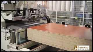MORBIDELLI 3615 CELL CNC BEDDER WAY MURPHY BEDS