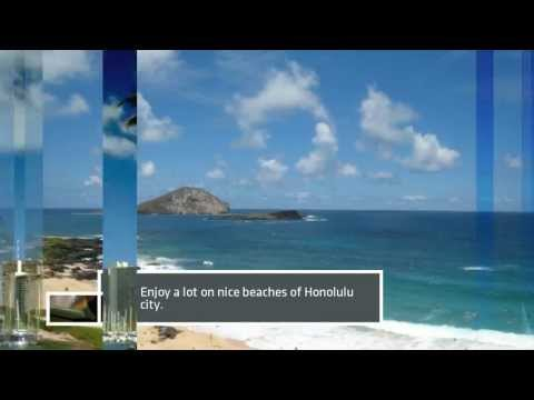 Video Tour to Honolulu Tourist Attractions [HD]