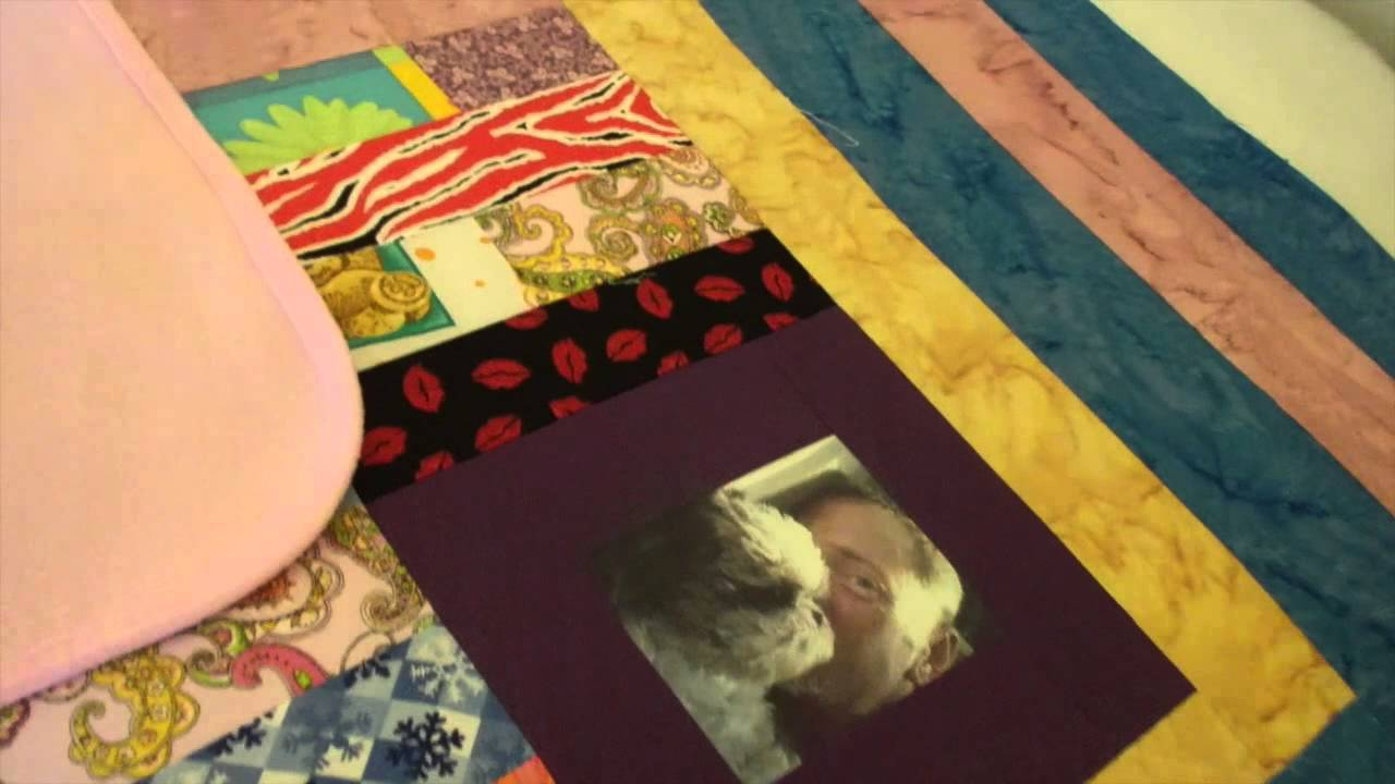 Putting the Memory quilt together... - YouTube : putting a quilt together - Adamdwight.com