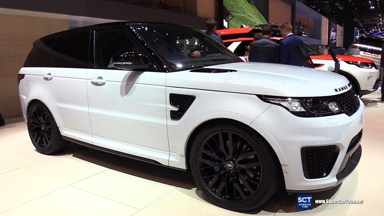 2017 Range Rover Sport 5 0 V8 Svr Exterior And Interior Walkaround Geneva Motor Show