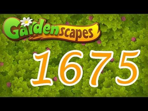 Gardenscapes level 1675