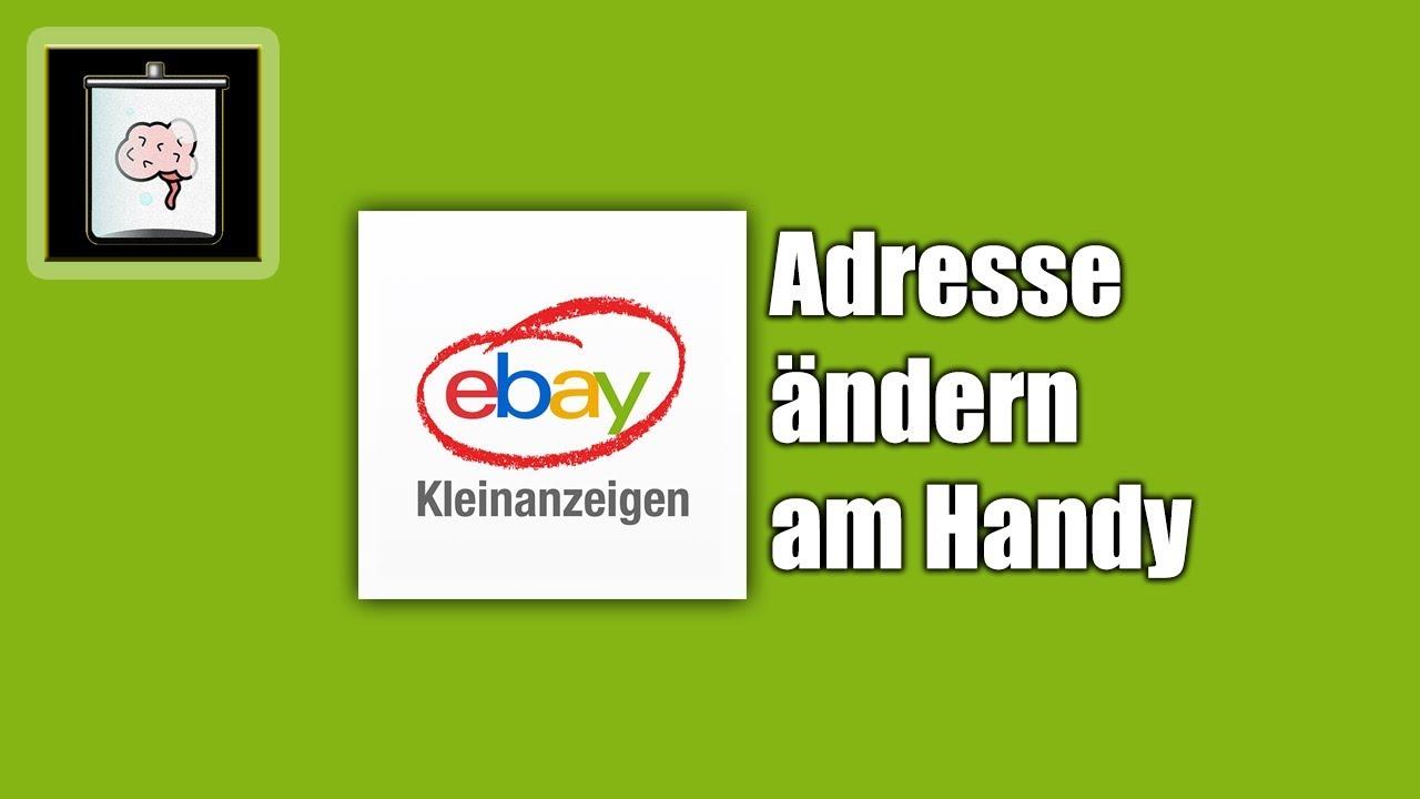 Ebay Adresse