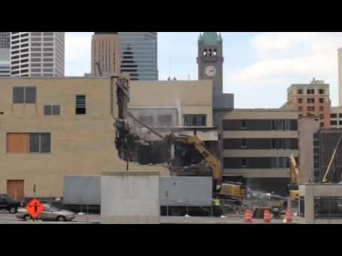 Demolition of former Star Tribune building