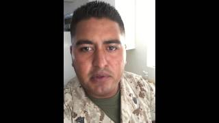 Salma Hayek listen to my Video! Marine Corp Ball 2015 share,share,share!