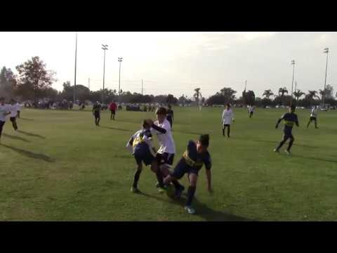 20161120 [LEAGUE CUP ROUND OF 8] FC GOLDEN STATE 04 BOWDEN vs BOCA JRS, L in PK SHOOTOUT
