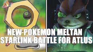 New Pokemon Meltan Revealed in Pokemon Let's Go Pikachu/Eevee & Starlink Battle for Atlus Fox HYPE!