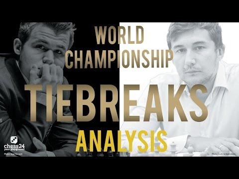 Carlsen - Karjakin Tiebreaks World Chess Championship 2016   Grandmaster Analysis