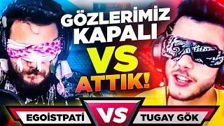 TUGAY GÖK ile GÖZLERİMİZ KAPALI VS! PUBG Mobile CHALLENGE