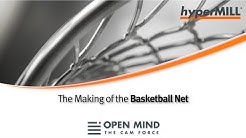 5 Axis Machining: Basketball Net  |GROB | OSG |CAM-Software|