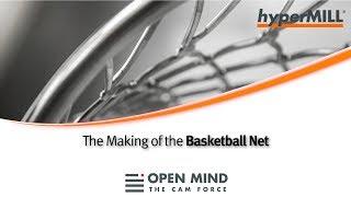 5 Axis Machining: Basketball Net  |GROB | OSG |CAM-Software|